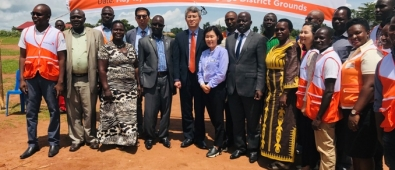 project launch of neglected diseases by World vision and Korea Cooperation Agency